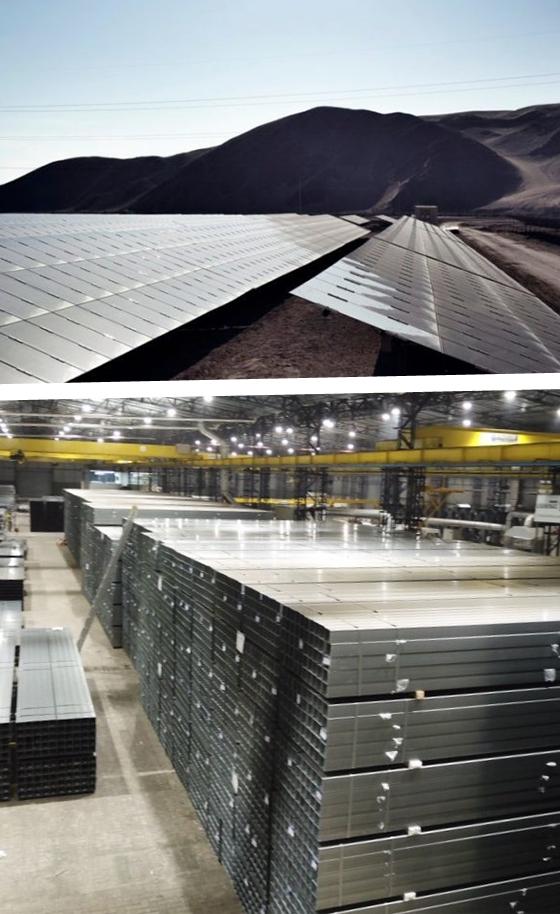 Tubos de Aço para Energia Solar