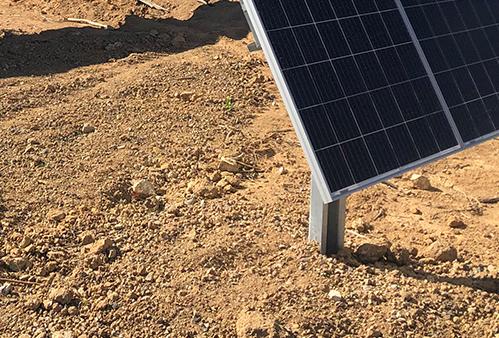 Estruturas de Solo para Energia Solar